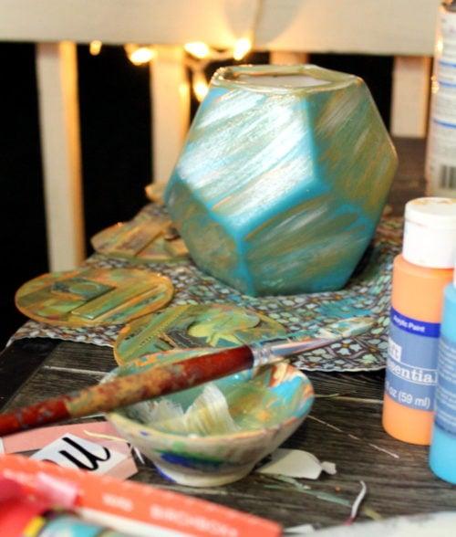 Painted Vase DIY