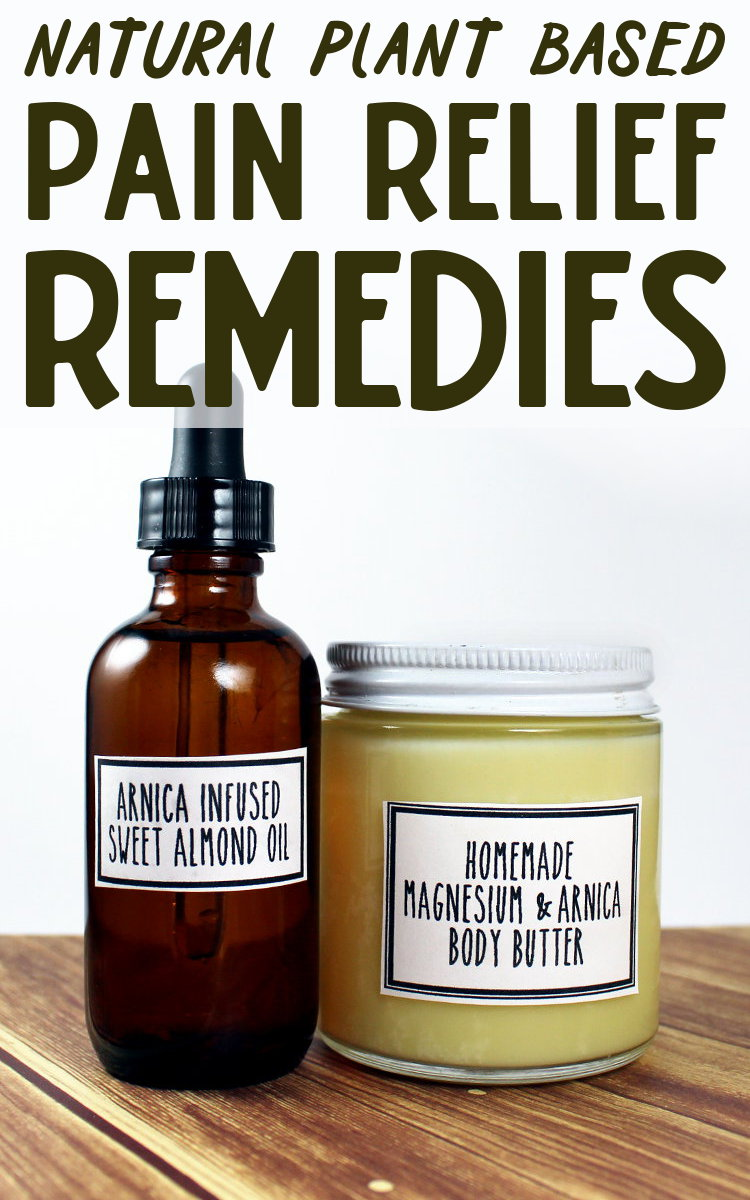 Natural Pain Relief Remedies! Whether you've been working too hard at the gym, overestimated your ability to hike up that mountain or your troublesome arthritis is flaring up again, these natural pain relief remedies will help to ease your body aches, pains and bruises! And they don't smell medicinal.