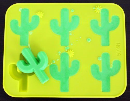Learn how to make your own colorful DIY cactus soap using melt and pour soap! This glittery, colorful cactus soap recipe is easier to make than you might think! And it makes a great DIY back to school teacher gift! Crafted using a combination of detergent free melt and pour soap bases and eco-friendly, biodegradable glitter, my DIY cactus soap is not only fun to use, but it's also safe for the environment and your skin.