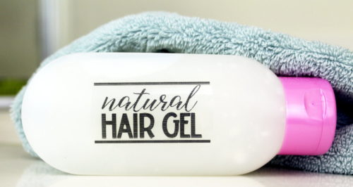 Natural Hair Gel Recipe! This natural lemon mint hair gel recipe is made using only natural ingredients and has a fresh lemon mint scent. Formulated using both castor oil this natural hair gel recipe helps to encourage hair growth while also giving your hair flexible hold. The addition of fractionated coconut oil also allows this product to help manage frizz while also adding to hair's natural strength and shine. Plus twelve more homemade hair care recipes you can make at home.