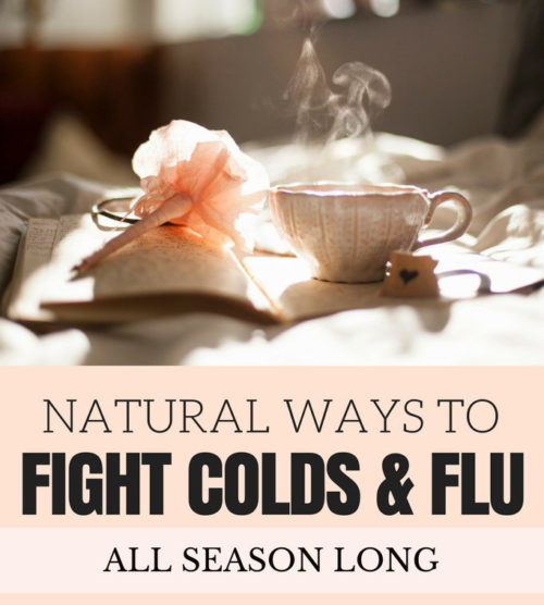 Natural Ways to Fight Colds & Flu This Fall! The kids are in school, the holidays are fast approaching and there's so much planning and shopping still yet to be done. Who can afford to get sick? Whether you're making soothing medicinal teas, immune boosting syrups or something else entirely, these natural ways to fight colds & flu will keep you in shape to do what needs to be done.