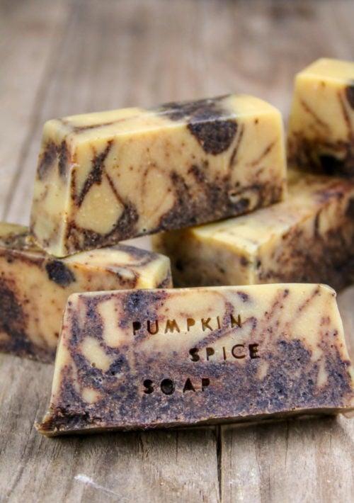 Pumpkin Spice Fall Soap Recipe via Oh, The Things We'll Make!