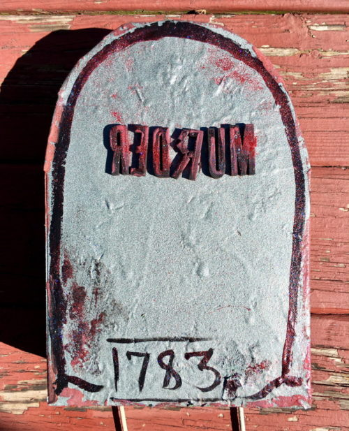 DIY Halloween Tombstones from Upcycled Cereal Boxes! Learn how to craft your own DIY Halloween Tombstones using upcycled cereal boxes and add a faux graveyard to your outdoor Halloween decorations! Making your own DIY Halloween tombstones is both easy and fun. And because this project doesn't require any technical skill, the whole family can join in on the fun!