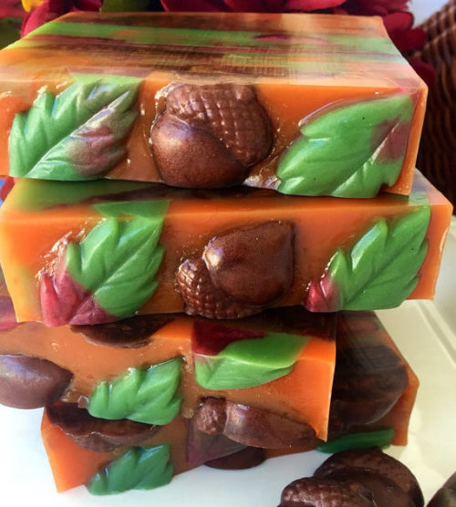 Autumn Lodge Glycerin Soap handcrafted by Seaside Soap Kitchen