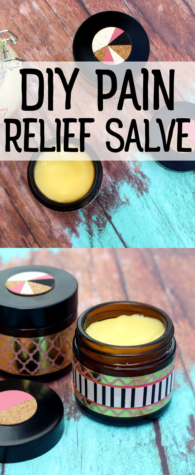 Arnica Pain Relief Salve Recipe for Sore Muscles and Inflammation! Whether you suffer from pain due to occasional bumps and bruises and sore muscles or more intense pain resulting from chronic conditions such as arthritis or carpal tunnel, this arnica pain relief salve recipe is the perfect natural remedy for muscle pain and inflammation! #painrelief #homeremedies #diy #salve