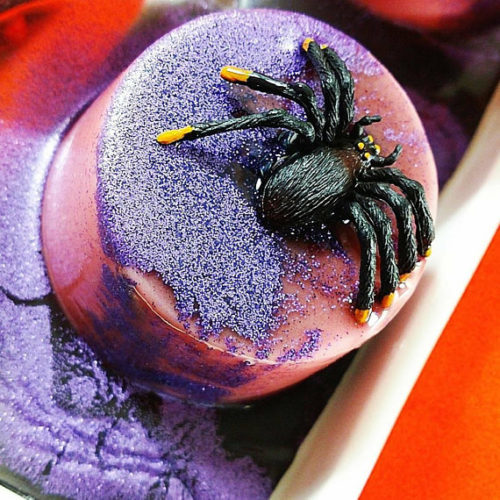 Halloween Spider Soap From Sunbasilgarden Soap! As if having arachnophobia wasn't bad enough, this frightful spider soap from Sunbasilgarden Soap may bring out more than it's fair share of Halloween screams. Made of pumpkin spice and everything nice, this natural glycerin soap is scented with buttery pumpkin scent and topped with sparkling glitter. The spider? It's a bonus for your family's favorite prankster.
