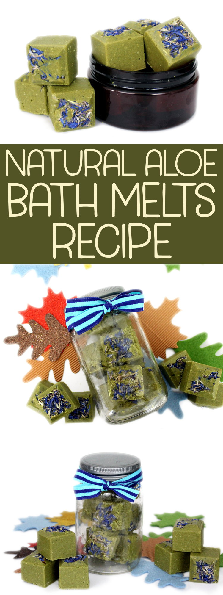 DIY Aloe Vera Bath Melts for Dry Skin! If you suffer from dry skin that's easily irritated by commercial solutions, this aloe vera bath melts recipe is a great natural alternative! Aloe vera, a versatile plant hailed as a magical skin saver, has a long history of use in skin care products and has the ability to promote healing, soothe and moisturize dry skin, fight dandruff and promote hair growth. #AloeVera #diy #BathMelts #crafts #skincare #naturalskincare