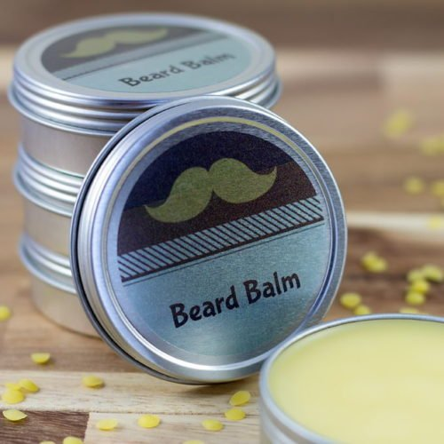 DIY Holiday Gifts for Him! This DIY Cedarwood Beard Balm via Fireflies & Mud Pies makes a great homemade holiday gift for men!