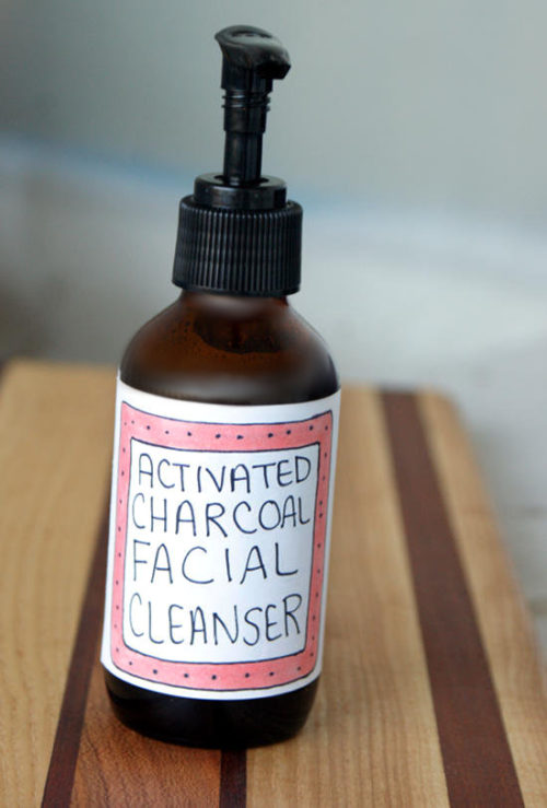 Formulated using an organic liquid castile soap as a base, this activated charcoal facial cleanser gently cleanses delicate facial skin while cocoa butter, shea butter and rosehip seed oil nourish and moisturize skin. The addition of both birch tar essential oil and activated charcoal help to balance skin and help to prevent acne so you're always blemish free.