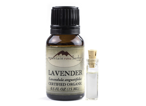 Lavender Essential Oil from Mountain Rose Herbs!