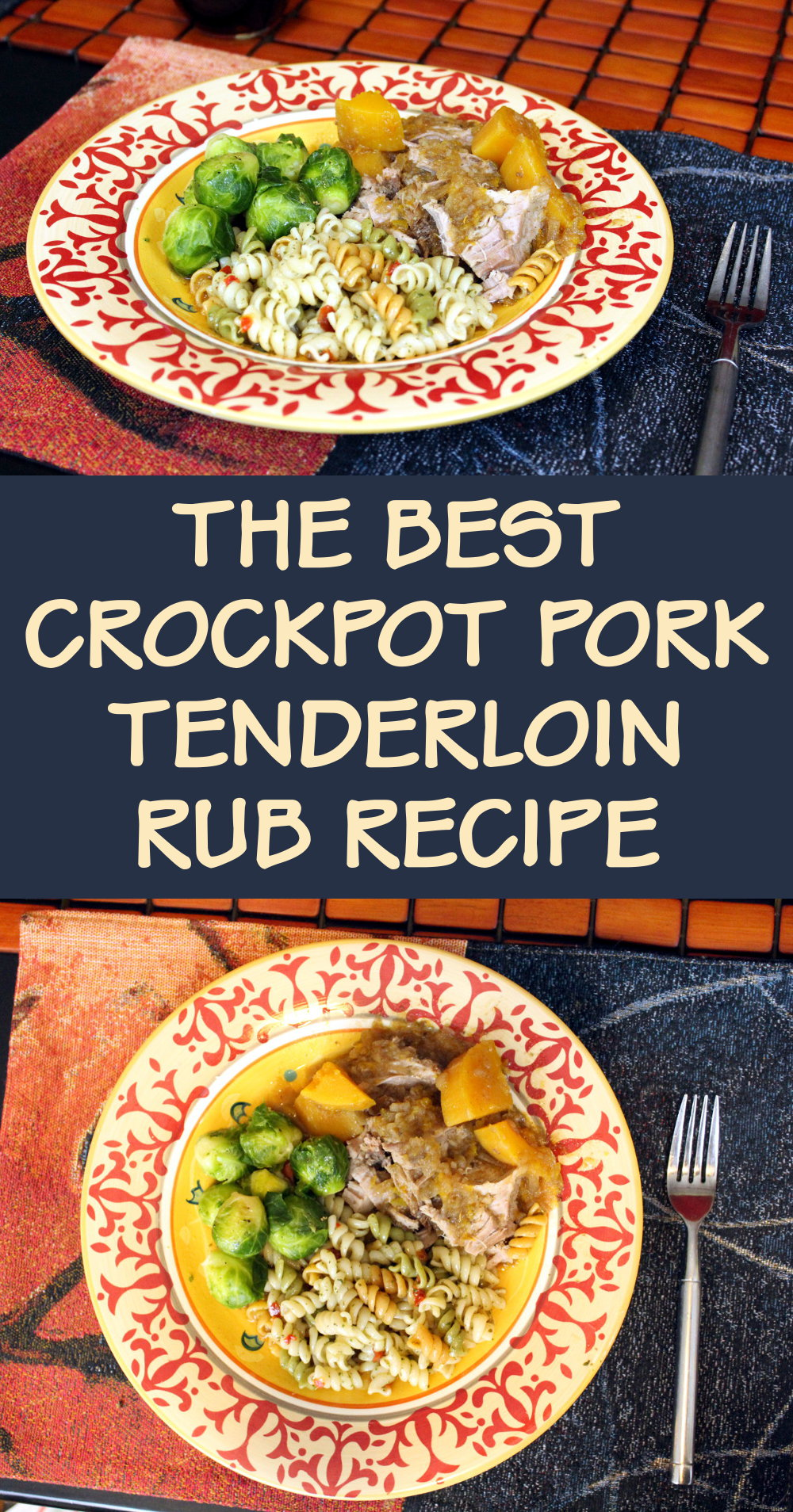Best Pork Tenderloin Rub Recipe for Your Crockpot Dinner! Do you need a quick and easy recipe idea to liven up your weekday dinners? Give this best pork tenderloin rub recipe a try on your next crockpot tenderloin for some fantastic flavor infusion! #recipes #pork #porktenderloin #porkrub #dinner #crockpot #dinnerideas #food #weekdaydinners