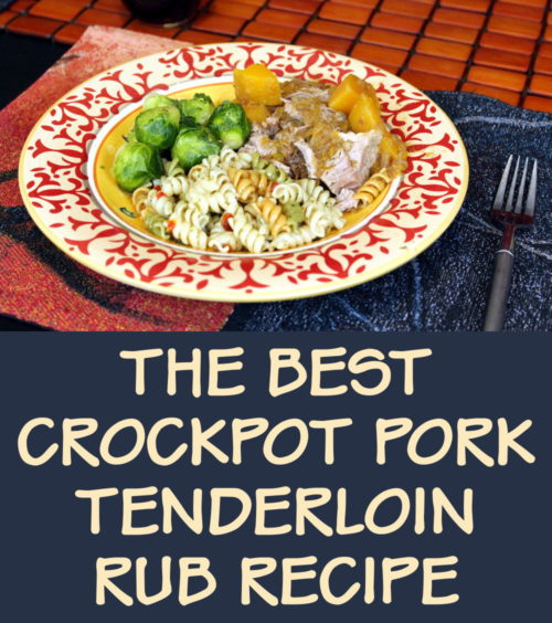 Best Pork Tenderloin Rub Recipe for Your Crockpot Dinner! Do you need a quick and easy recipe idea to liven up your weekday dinners? Give this best pork tenderloin rub recipe a try on your next crockpot pork loin for some fantastic flavor infusion! #recipes #pork #porktenderloin #porkrub #dinner #crockpot #dinnerideas #food #weekdaydinners