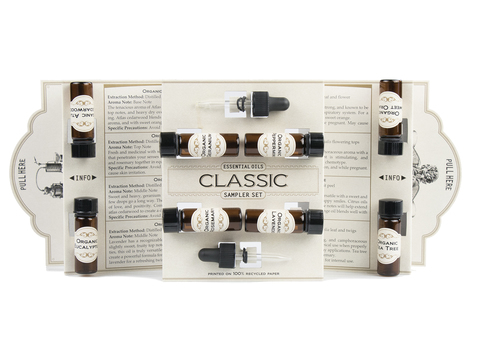 Classic Essential Oil Kit from Mountain Rose Herbs! Use this essential oil kit to get started in aromatherapy or to craft your own homemade essential oil skin care recipes! Learn more plus discover a collection of simple skin care recipes with essential oils to get you started.