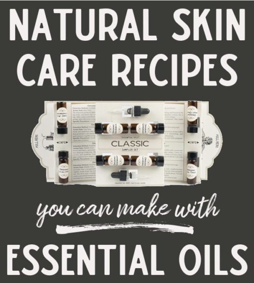 Essential Oil Skin Care Recipes! Get started using essential oils in your own homemade skin care products with a classic essential oil kit from Mountain Rose Herbs. Mountain Rose Herbs offers high quality, organic essential oils that you can trust in all of your natural skin care recipes. #essentialoils #skincare #diy #recipes #beauty #naturalskincare #naturalbeauty #essentialoilrecipes #crafts #health