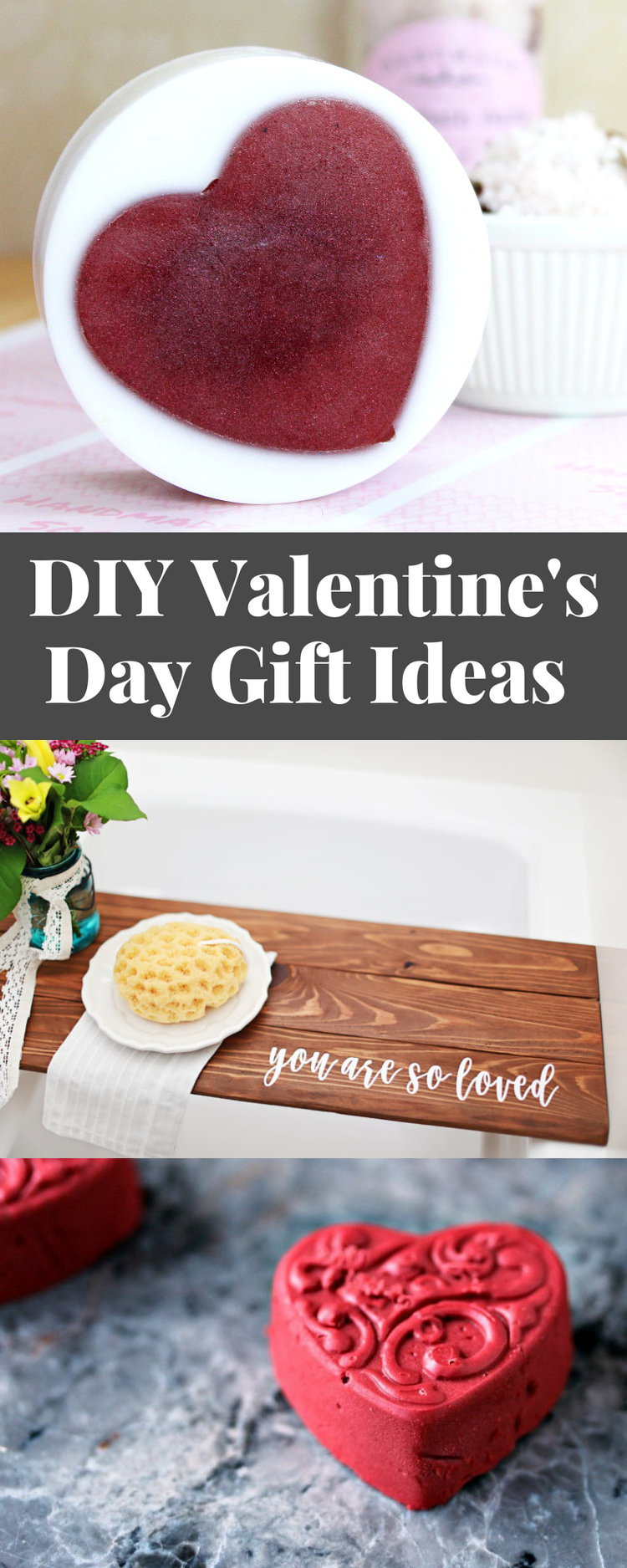 Whether you celebrate Valentine's Day or simply Galentine's Day, this beautiful collection of 18 DIY Valentine's Day gifts is sure to delight!