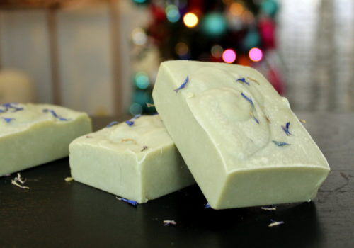 Ginger Mint Soap Recipe! This homemade ginger mint soap recipe is a wonderful skin care option for caring for and nourishing dry skin! Made with gentle ingredients that include cocoa butter, olive oil and black cumin seed oil, this ginger mint soap is a year round delight for anyone in need of a gentle cleanser to soothe irritated or dry skin. #soap #soapmaking #skincare #soaprecipe #blackcuminseedoil #oliveoil #beauty #dryskin #dryskinremedy #gentlecleanser #cleanser #diy #crafts