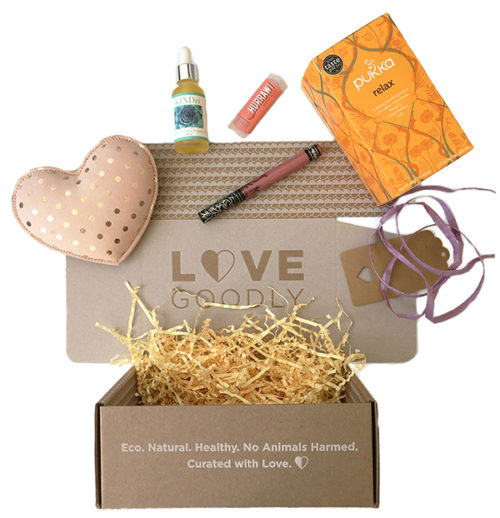 Love Goodly Subscription Box! Live a stylish & cruelty-free lifestyle. Discover healthy, eco-friendly and vegan products delivered every other month.