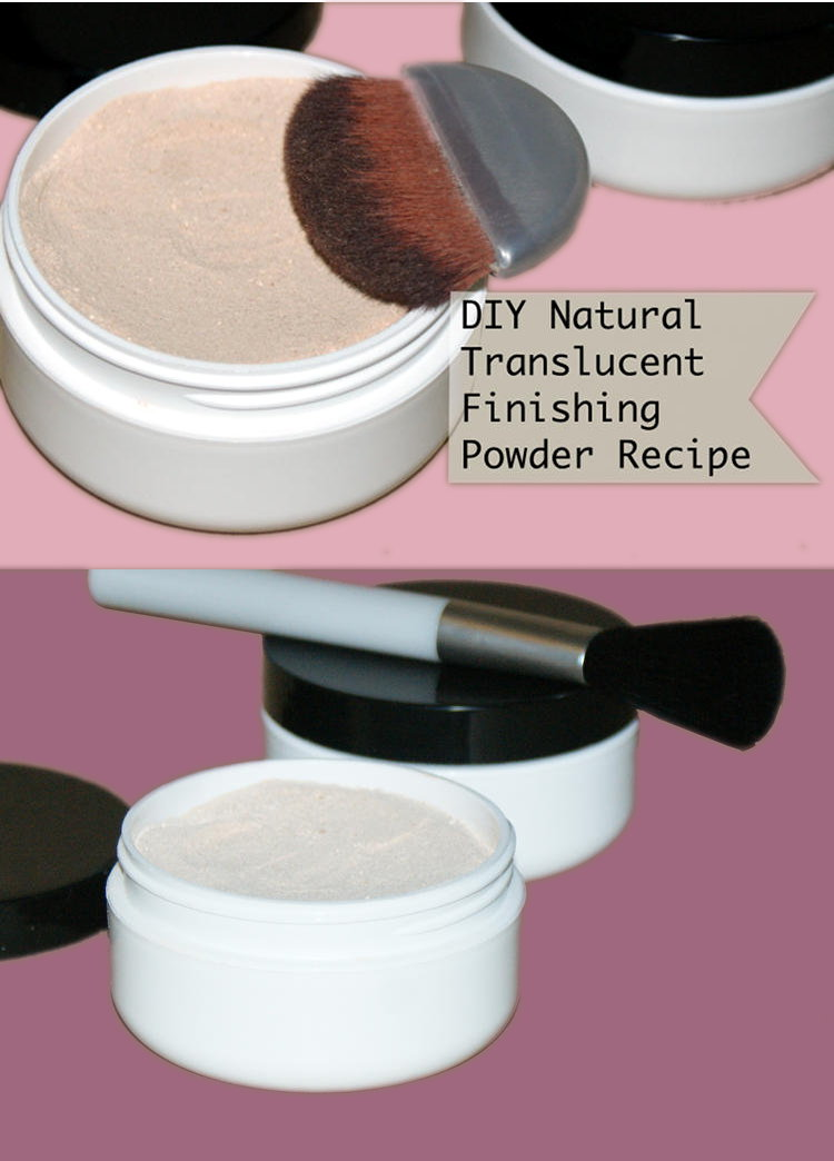 Natural Translucent Finishing Powder Recipe! Confused by makeup and cosmetic label ingredients? You're not alone! If you've been looking for an all natural finishing powder but don't want to pay big bucks for designer brands, then give my simple lightweight, natural translucent finishing powder recipe a try! You'll be amazed by how well it really works!