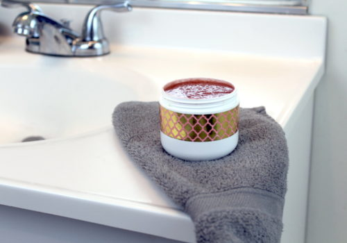 Skin Softening Hand Scrub Recipe for dry hands. With winter here, it's more important than ever to wash your hands regularly to avoid getting sick. Unfortunately, that also means you are more likely to develop dry hands. And during winter, dry skin can quickly become cracked and painful. To help solve this common dilemma, I created this easy skin softening hand scrub recipe. To make this recipe super easy to make, I started with a basic liquid Castile soap then added a variety of natural ingredients proven to hydrate skin and promote skin health.