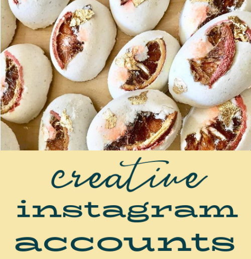 Creative Instagram Accounts That Will Inspire You! From small artisan businesses to creative artists, the wonderful people behind this collection of ten creative instagram accounts are just a few of the gems you might not have stumbled across otherwise. I hope you enjoy their creative spirit as much as I do. And, that in turn, they are able to inspire your own creativity and style.