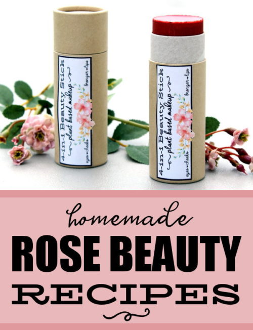 Rose Skin Care Recipes for Natural Beauty & Gifts! If roses are one of your favorite flowers, then you don't want to miss this stunning collection of rose skin care recipes that you can make and gift! These beautiful rose beauty recipes are a must have for your next DIY project! Each carefully formulated  recipe begins with plant based ingredients then adds a touch of creative spirit for some of the best rose skin care recipes for your skin! #roses #skincare #beauty #recipes #diy #gifts #natural