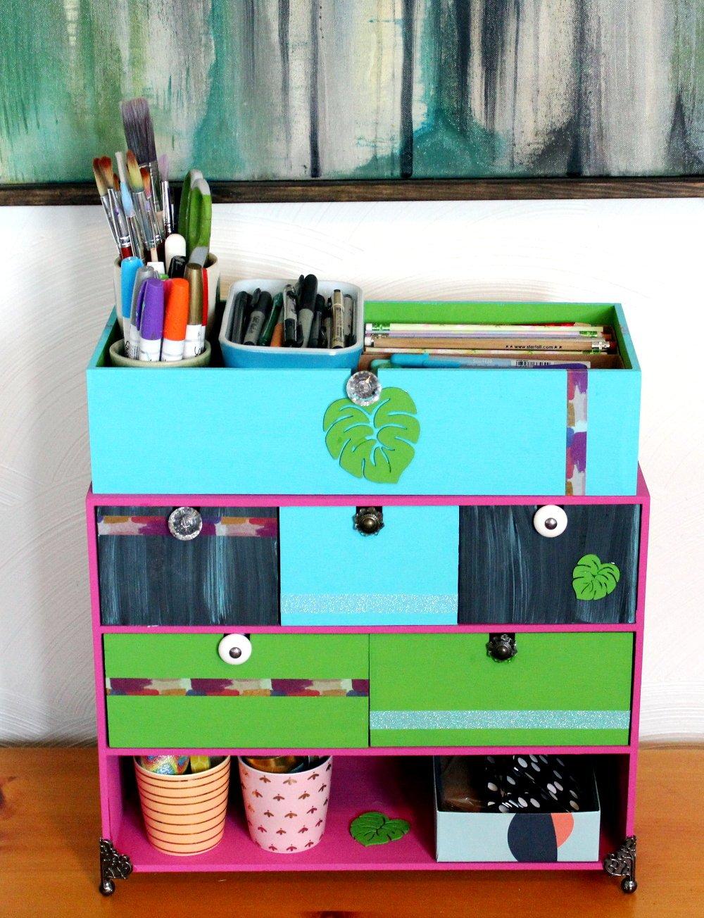 DIY Crafts Desk Organizer & Ikea Hack - Soap Deli News
