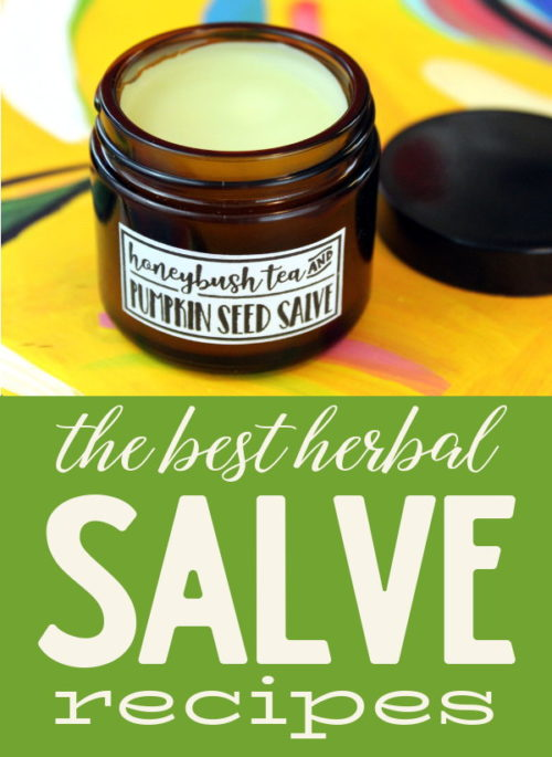 Best Herbal Salve Recipes for Every Ailment! Crafted from plant based ingredients that include a combination carrier or herbal infused oils and beeswax that promote skin health, this collection of the best herbal salve recipes are suited for almost every ailment. Plus learn how to customize a simple all purpose salve recipe for your skin specific needs.