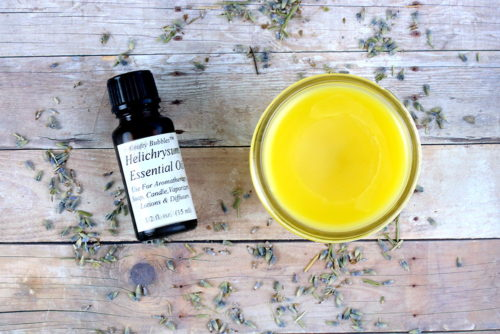 Best Scar and Stretch Mark Treatment. Another guest post from Cari of Everything Pretty, this natural scar and stretch mark salve recipe is formulated using carrier and essential oils prized for their natural skin care benefits to promote healing and collagen production as well as reduce dark spots and boost cellular turnover. Plus its anti-aging properties also make it great for smoothing fine lines and wrinkles!