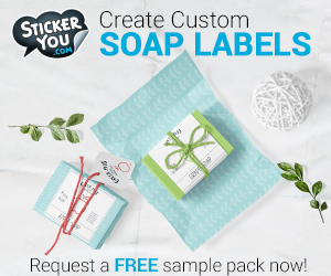 Create Custom Stickers for Your Homemade Soaps, Bath and Beauty Products to Sell or Give as Handmade Gifts