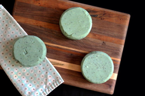 Natural Gardeners Soap Recipe for natural skin care. Winter is the perfect time to make a homemade gardeners soap for spring! By making your soaps early, they have plenty of time to cure. An extended cure time not only makes your soap bars harder, but it also increases the lather and results in a gentler soap bar. This natural gardeners soap recipe is made using the cold process soapmaking method and is filled with scrubby bits of seeds and herbs to help scrub away dirt and grime.