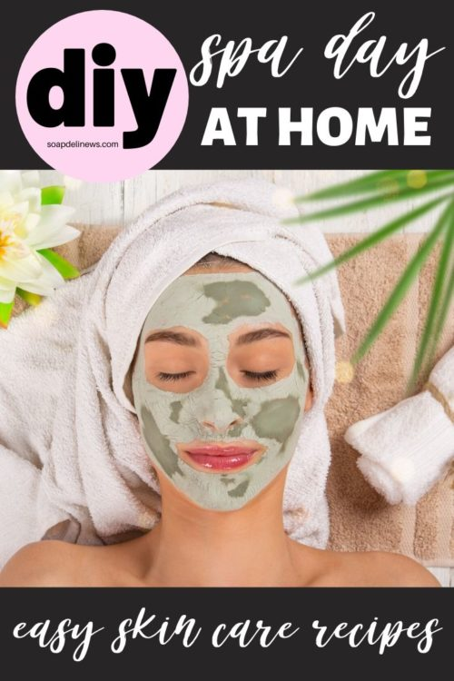 How to have a spa day at home. Easy holistic DIY beauty and skin care recipes for a spa day at home. The perfect answer to self care during times of stress. You don't have to spend a fortune to enjoy luxury skin care and natural beauty products. Instead you can make your own easy holistic beauty and skin care recipes for a spa day at home! 60 of my favorite, easy holistic beauty & skin care recipes you can make using natural ingredients for clean beauty.