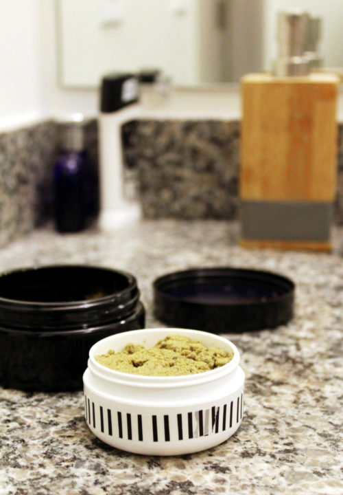 Anti-Aging Microdermabrasion Scrub Recipe with Nutrient Rich Sea Kelp. Save money by making this natural anti-aging microdermabrasion scrub recipe. This holistic beauty recipe contains a combination of five simple but powerful ingredients to exfoliate skin, remove dull surface cells and help diminish the appearance of fine lines, wrinkles and acne scars. Learn more about the unique ingredients that go into this amazing, natural #antiaging beauty solution that also doubles as a face mask.