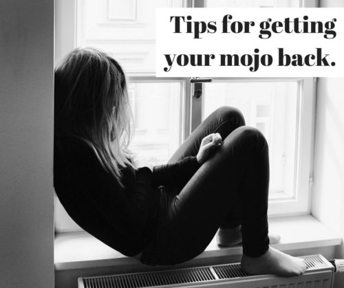 Tips for getting your mojo back. When life seems bent on an unending downward spiral it's easy to become overwhelmed and feel like a failure. You are NOT a failure. Read my story on struggling with life's challenges. Plus ten ways to get your head back on track to where it needs to be.