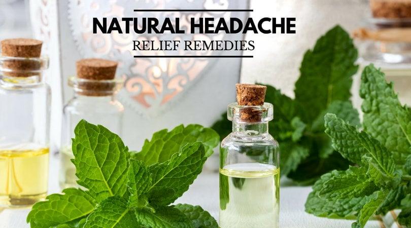 Natural Headache Relief Remedies for Tension Headaches ...