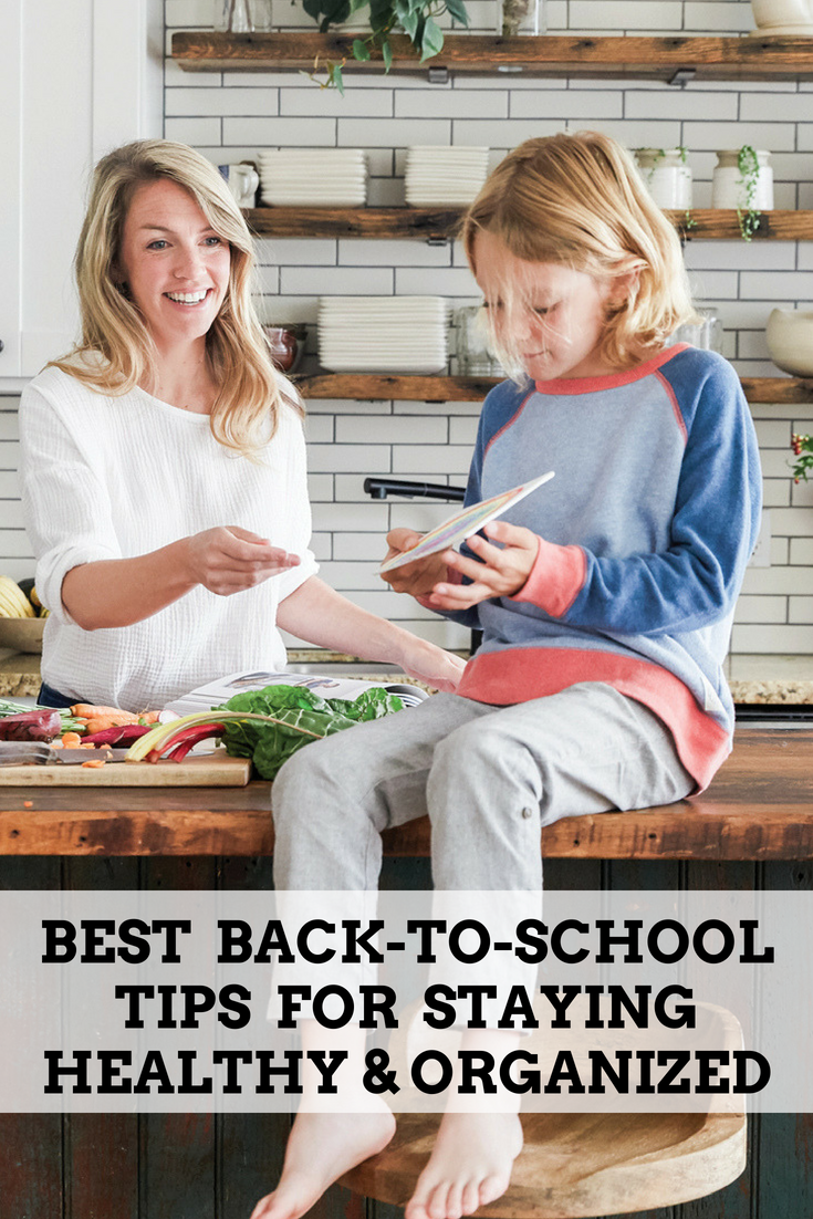 Tips for Staying Healthy (And Organized!) As The Kids Head Back to School This Fall. Whether you're a stay-at-home parent or work full time, back to school can be a challenge for every type of family. So when someone in your family gets sick, it makes it hard to stick to a routine that works. Discover my collection of tips for staying healthy as the kids head back to school this fall. So you and your kids can stay on top of your game. #backtoschool
