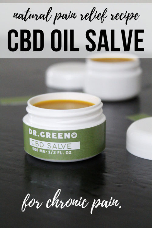 Natural Pain Relief CBD Oil Salve Recipe. You don't need to take CBD oil internally to enjoy its natural pain relieving properties. You can also use it make a natural pain relieving salve. Learn how CBD oil can help with fibromyalgia and other types of chronic pain, including arthritis. Plus how to make your own pain relief CBD oil salve.