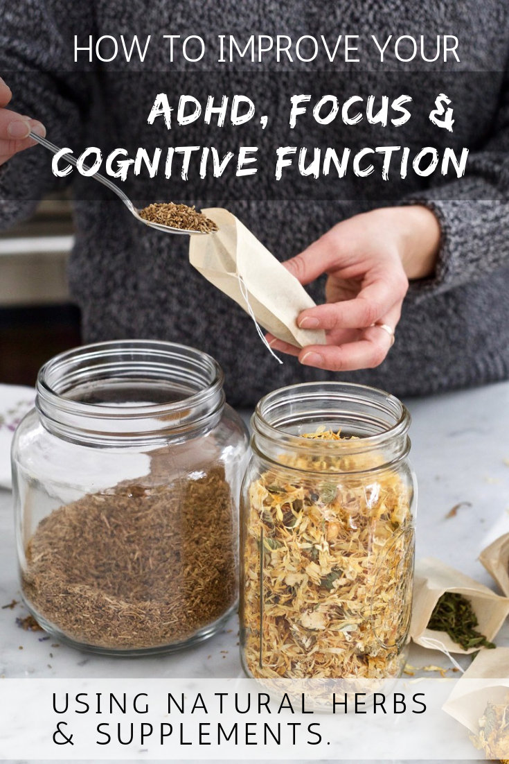 How to Treat ADHD Naturally (Without Prescription Medications) Using Natural Herbs & Supplements
