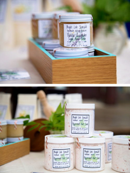 Bright Life Skincare. Handmade natural beauty and artisan skin care products. These natural skin care products are perfect for handmade holiday gifts & ideas. A lovely addition to any seasonal gift baskets as a handmade gift for her. Or try her natural sore muscle rub as a handmade holiday gift for him!