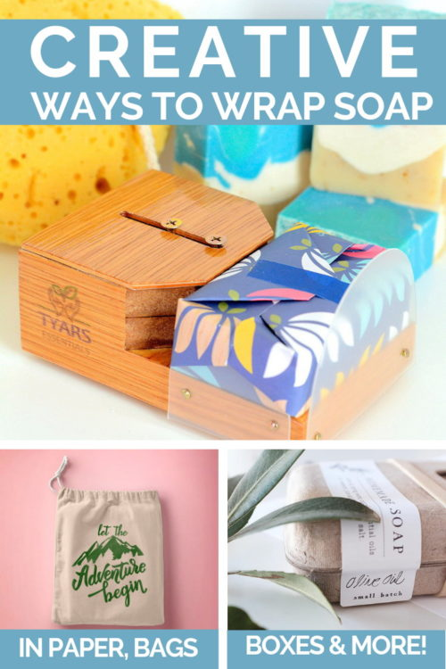 Creative ways to package soap for sale or handmade holiday gifts. If you're looking for creative ways to package soap for sale to set your product apart at craft fairs and events, then you'll love these easy soap packaging and labeling ideas! Keep reading to learn the best ways to package homemade soap for sale and put your homemade soaps a head above the competition. Plus learn how to make some of my favorite soap recipes for winter skin care.