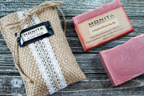 How to Package Homemade Soap Bars in Bags. Bags are also one of the easiest ways to wrap soap for sale or to give as handmade holiday gifts. Monita Natural Care sells decorative burlap bags for her homemade soaps that you can for gift giving. However, it's also great inspiration for designing your own burlap bags for handmade holiday soap gifts.