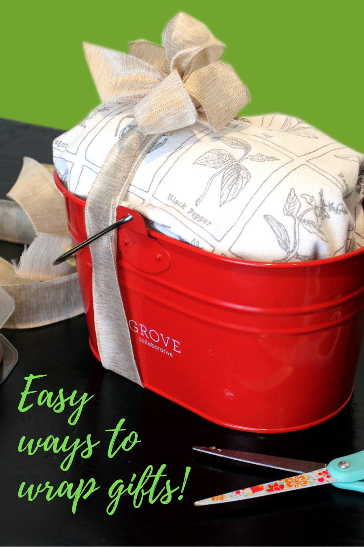 Easy ways to wrap gifts for the holidays. Plus homemade gift ideas for friends and family they're sure to love! With the holiday season right around the corner, what better way to make that time less stressful than to plan ahead? Save time by preparing now and working on your holiday gifts in stages. Plus learn easy ways to wrap gifts - even at the last minute - so you look like you had it together all along!