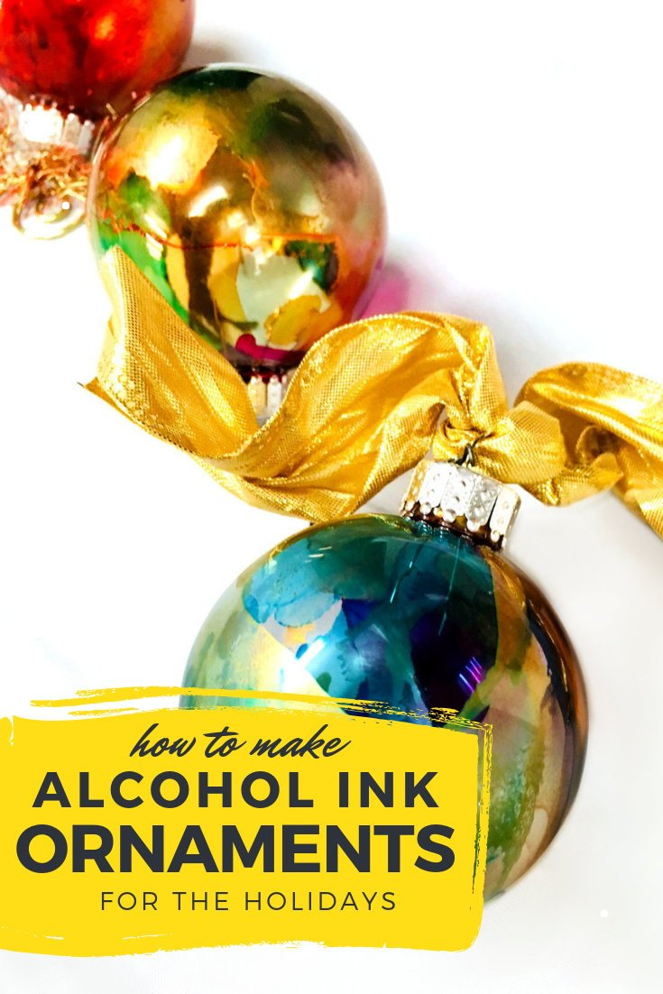 Alcohol Ink Christmas Ornaments.Alcohol Ink Ornaments Diy Video Tutorial For The Holidays