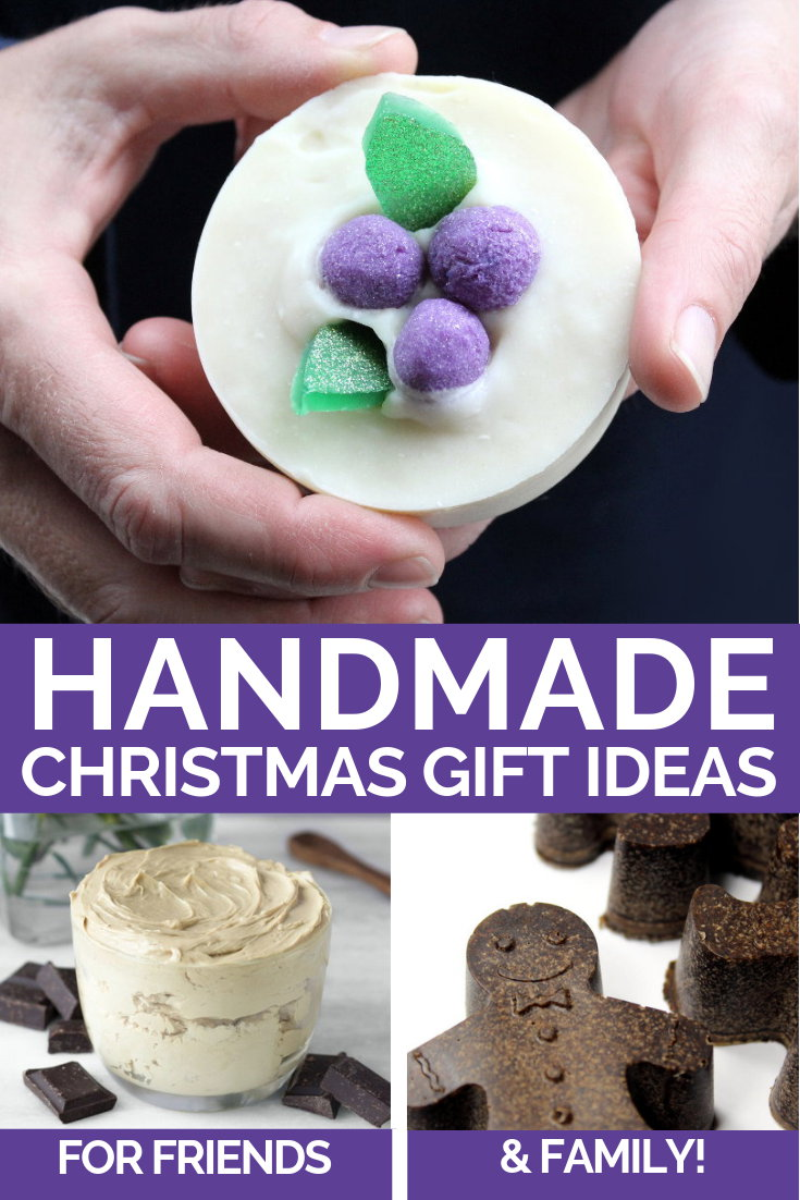 DIY Christmas gift ideas for friends, family and coworkers this holiday season. I love giving the gift of handmade. If you want to give meaningful holiday gifts this year, then this collection of 40 DIY Christmas gift ideas for friends, family and coworkers is a must! Visit Soap Deli News blog now to discover the best DIY Christmas gift ideas to craft and gift this winter.