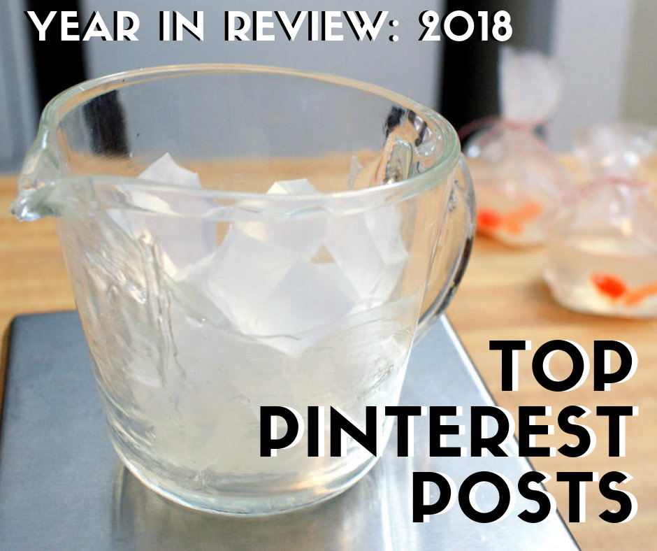 Top pinterest posts from Soap Deli News blog for 2018. Best DIY crafts & project ideas, a must see furniture makeover, what is STILL my favorite DIY bathroom cleaner, a divine natural lavender body butter recipe and a must try soap-making tutorial!