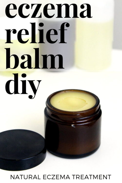 Natural Eczema Treatment for Real Relief from Eczema & Dry Skin. This natural eczema treatment knocks over-the-counter eczema creams out of the water. Formulated using only natural ingredients that offer relief of inflammation, itching and dryness, my natural eczema relief balm recipe offers real relief for your eczema or dry skin - with or without essential oils. Learn how to make an eczema repair balm recipe now an eczema remedy that really works! #eczema