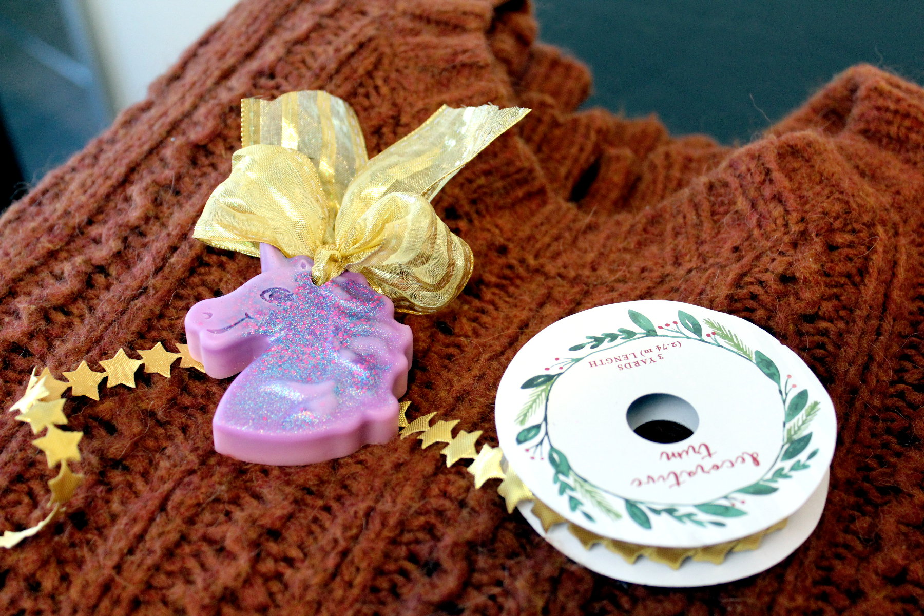DIY Air Wax Fresheners with Essential Oils - Unicorn Style! Remind your BFFs how magical they are with these unicorn air fresheners for Galentine's Day. Scented with natural essential oils, these unicorn wax air fresheners are perfect for musty closets or to use as drawer sachets. Or hang them in a sunny kitchen window. These DIY air fresheners are super easy to make. They're also the perfect reminder that we DO sparkle every single day! #airfresheners #unicorns #diy