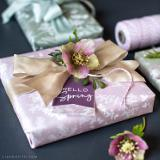 This beautiful printable spring herb gift wrap and gift tags are perfect for seasonal gift giving. Inspired by lush greens and botanicals, this printable gift wrap is available from Lia Griffith.