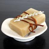 Eczema is not fun. In winter, it's really not fun. However you can take steps to minimize the itching and inflammation. This unscented natural soap recipe is crafted using gentle ingredients that won't irritate your eczema. And it leaves your skin looking and feeling moisturized. So ditch that commercial bar soap or body wash and make a real change to your natural skin care routine with this simple change. Get the soap recipe now!
