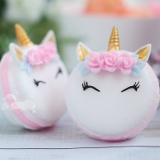 I just can't get over how gosh darn cute these unicorn soap macarons from So Cute Soap are! Free of all the bad stuff you find in commercial soaps, these cute unicorns are enriched with shea oil. I can't wait to bathe with one of these magical beauties! What about you? Get yours now!