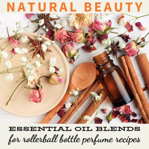 Essential oil perfume blends. How to make natural perfumes using essential oils. 5 lovely DIY essential oil perfume recipes to make at home or as handmade gifts for friends and family. Plus learn the secret to make your essential oil perfume blends last longer through the use of natural essential oils that act as scent fixatives.